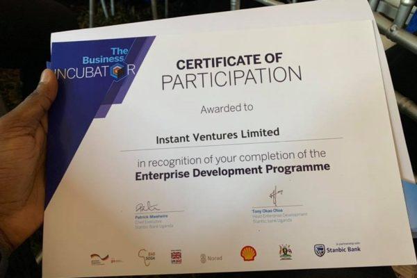 IV Certificate